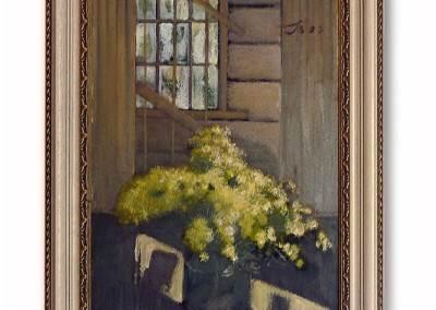 рама для картины, деревянный багет