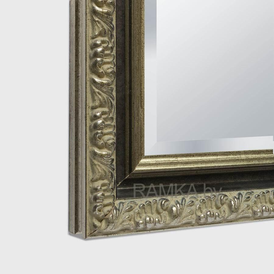 Сделать обрамление зеркало