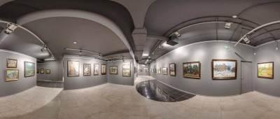 Повесная система Артитек в галереи Дом Картин