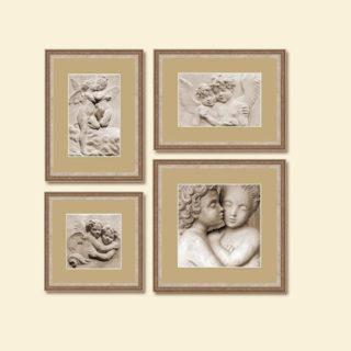 Коллаж «Ангелы» из 4 рамок