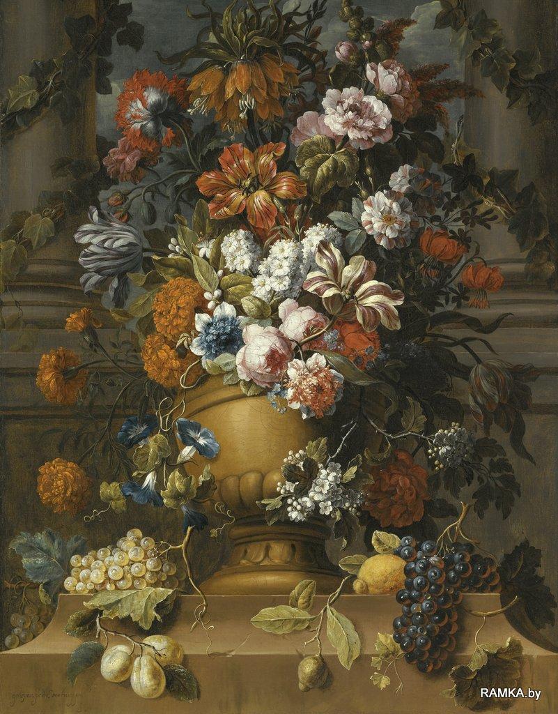 0006 - Репродукция картина - Голландский натюрморт