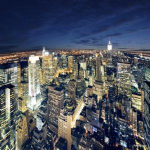 Репродукция картина - Панорама Нью Йорка