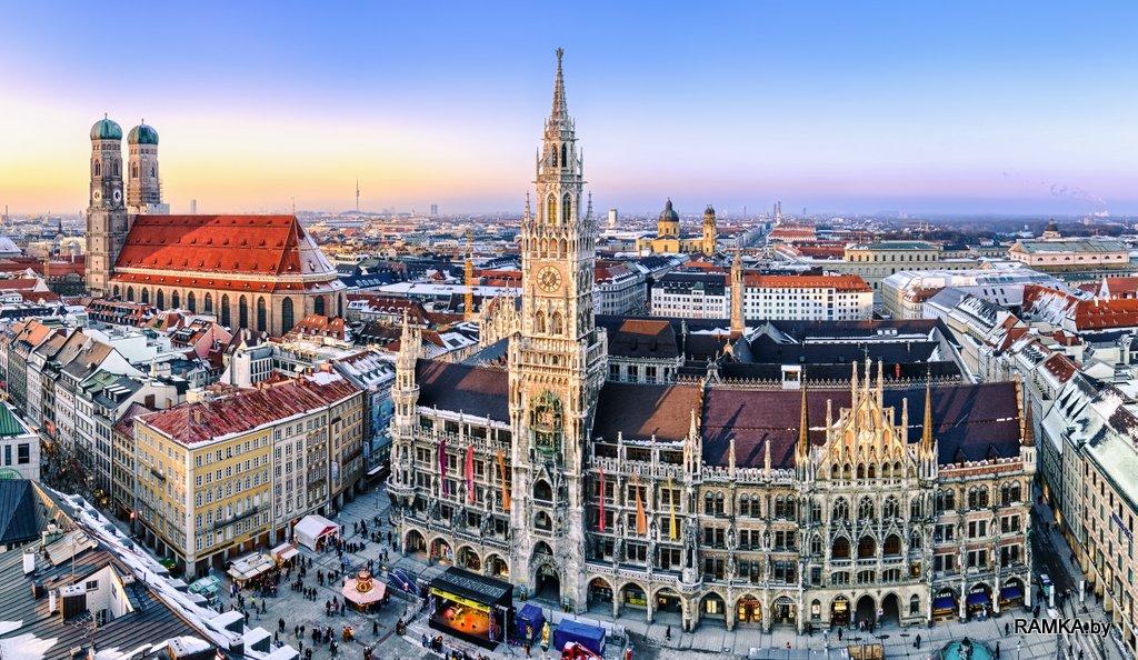 Репродукция картина - Панорама Мюнхена