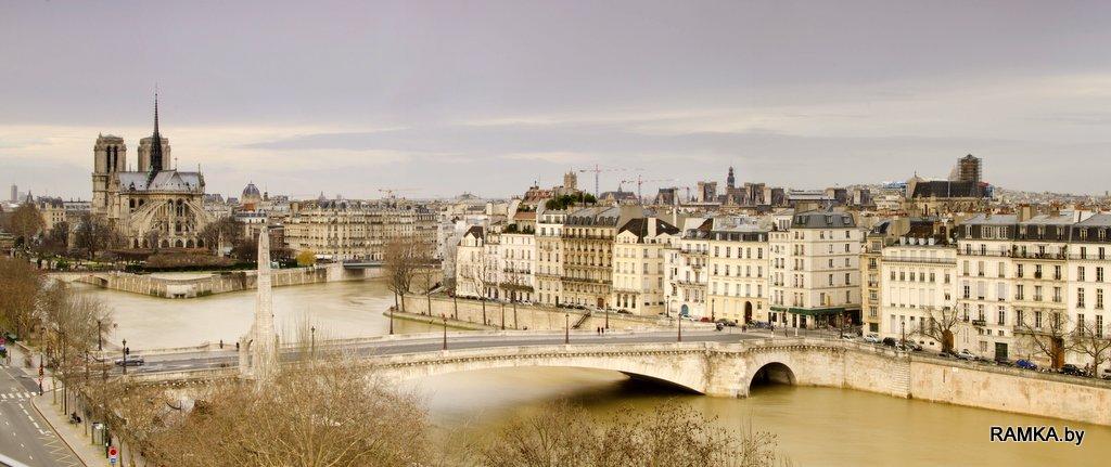 Репродукция картина - Панорама Парижа