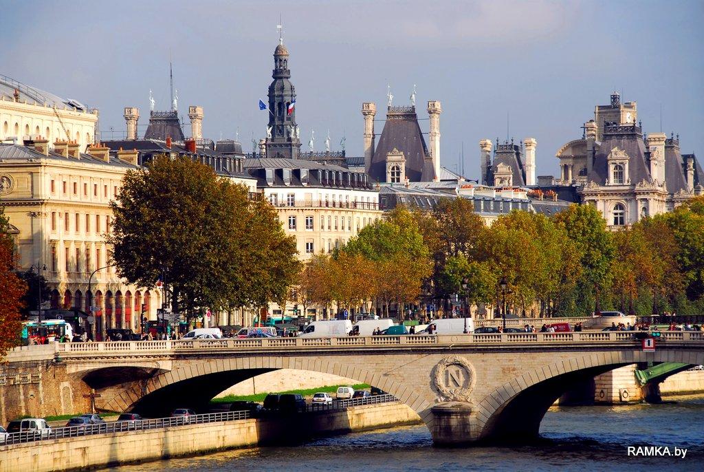 Репродукция картина - Париж Сена, Paris Seine