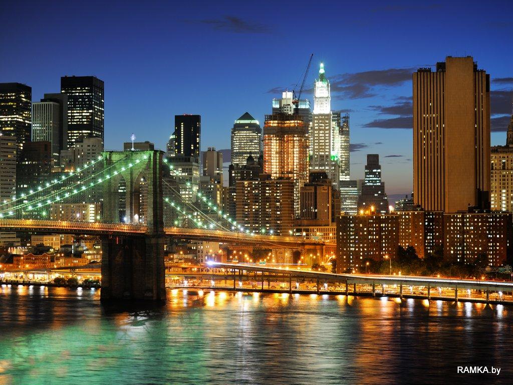 Репродукция картина - Нью Йорк
