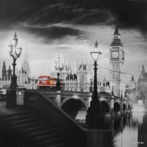 Репродукция картина - Лондон
