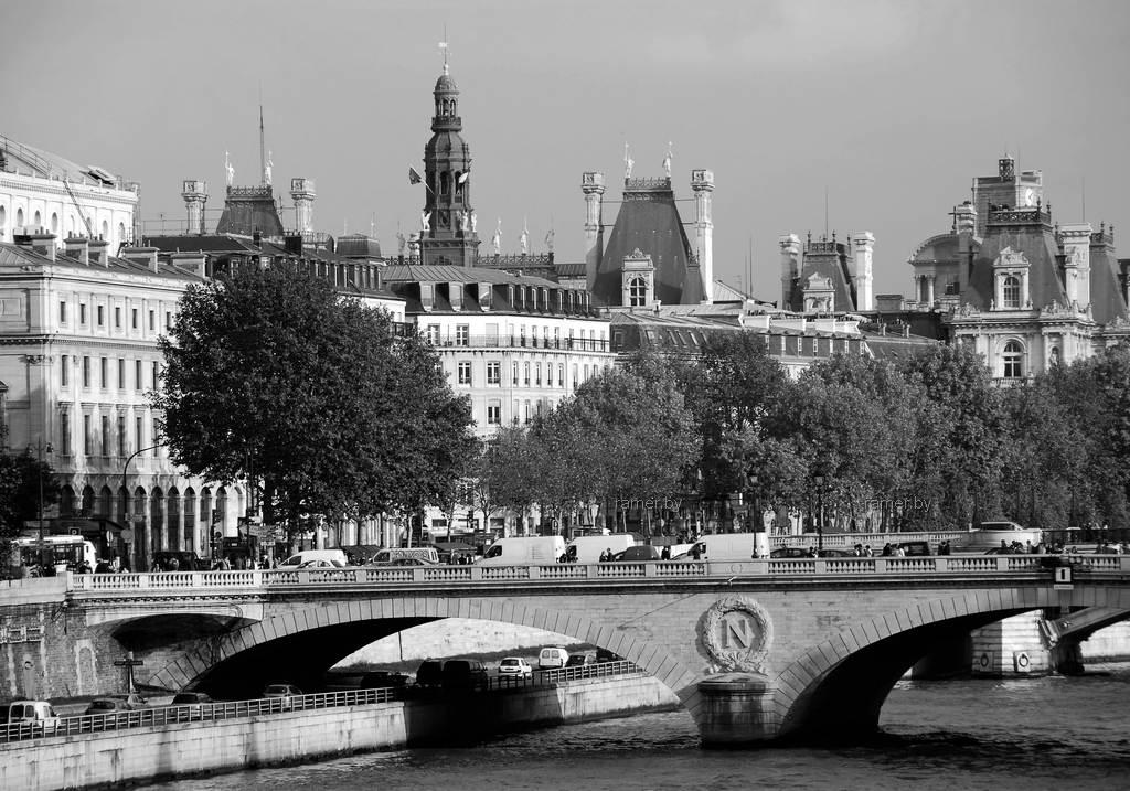 Репродукция картина - Париж