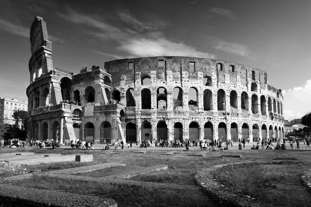 Репродукция картина - Рим, Колизей