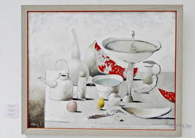 выставка картин из коллекции Приорбанка