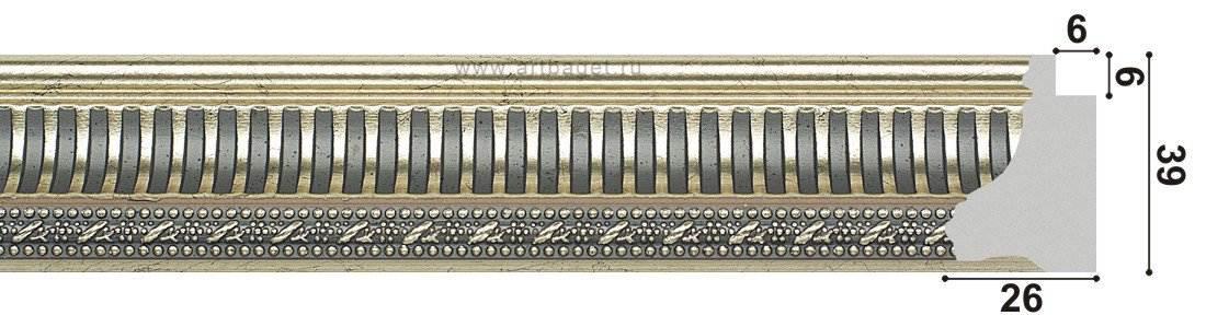 134001 Пластиковый багет
