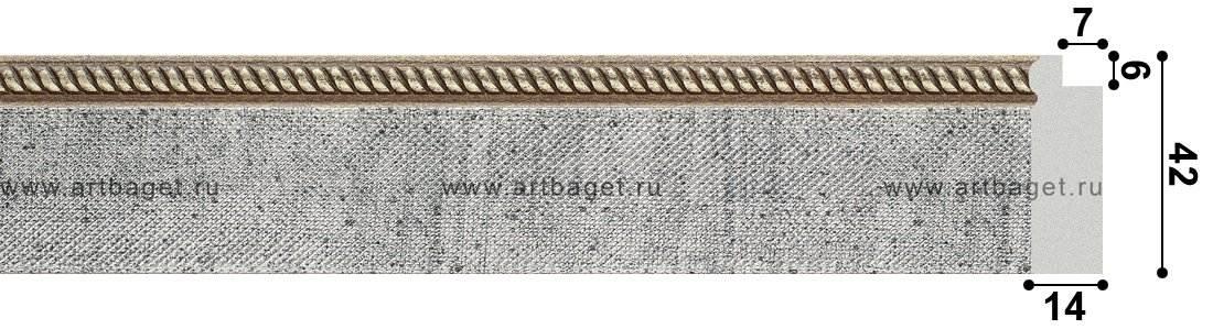 134021 Пластиковый багет