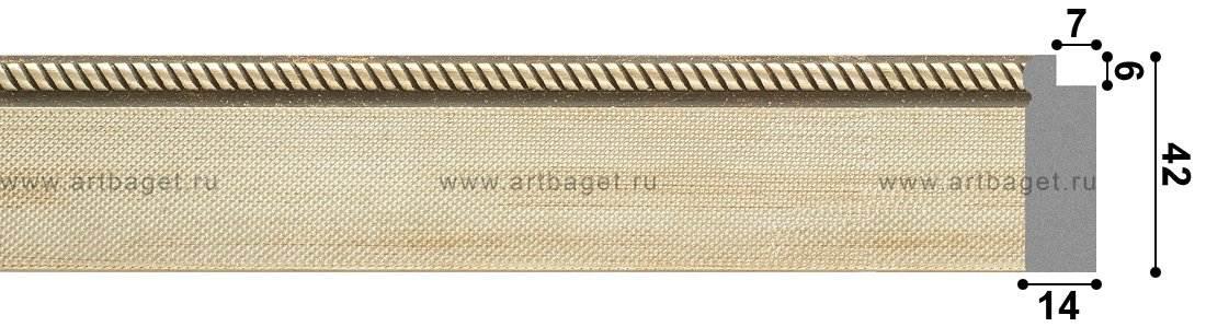 134022 Пластиковый багет