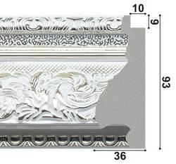 139001 Широкий пластиковый багет