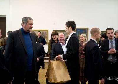 Выставка Бархатковых в НИМ Беларуси