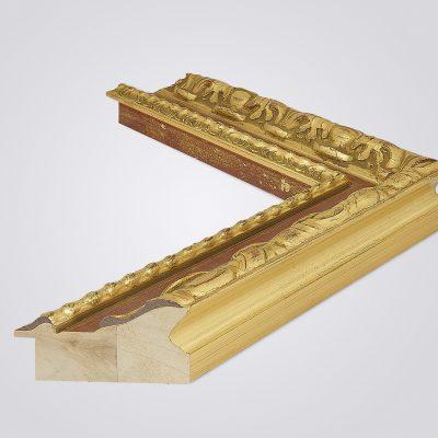 Классический образный деревянный багет