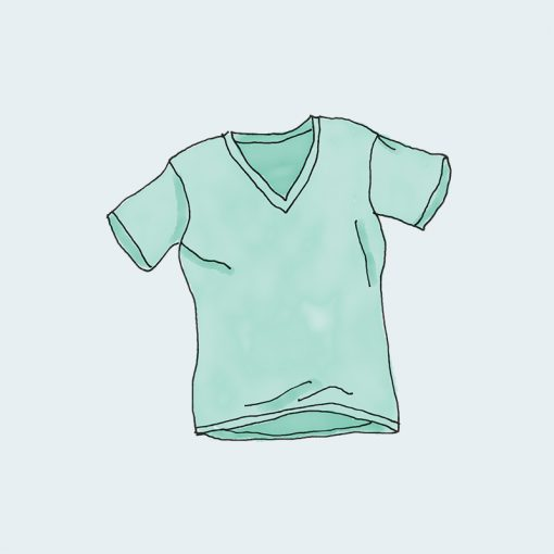 V-Neck T-Shirt - Green